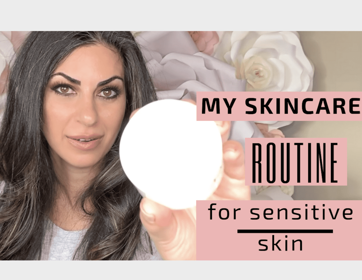 Skin Care Routine for Sensitive Acne Prone Skin