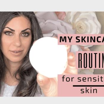 Skin Care Routine for Sensitive Acne Prone Skin